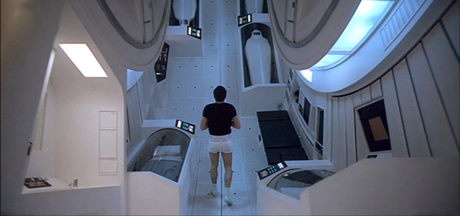 Space odyssey 2001 interiors