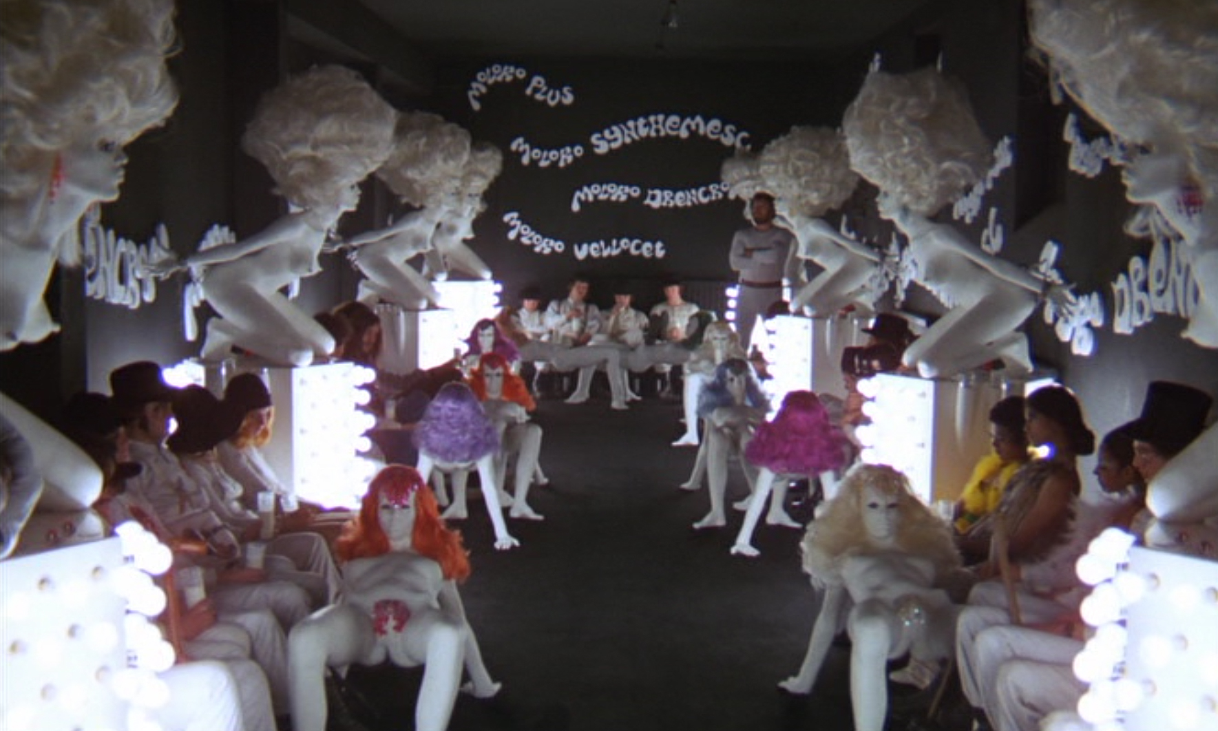 """an analysis of the movie and ultra violence in a clockwork orange by stanley kubrick I guess it was only natural for a film-maker of stanley kubrick's  alex's """"ultra-violence  a clockwork orange is a confronting film ."""