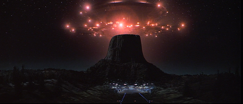 Close encounters of the third kind mothership interior