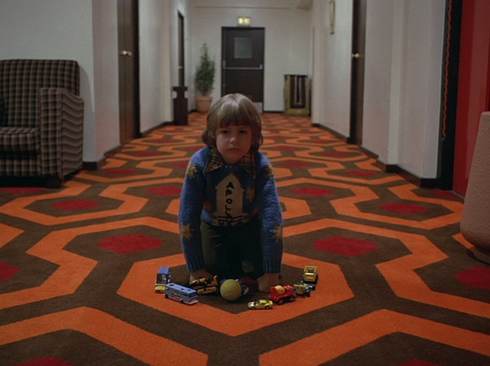 The Shining How The Kubrick Carpet Trick Works